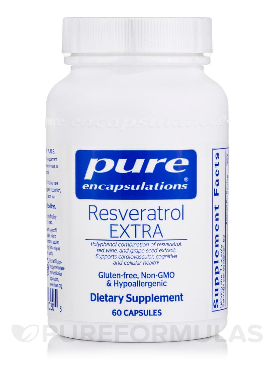 Resveratrol EXTRA - 60 Capsules