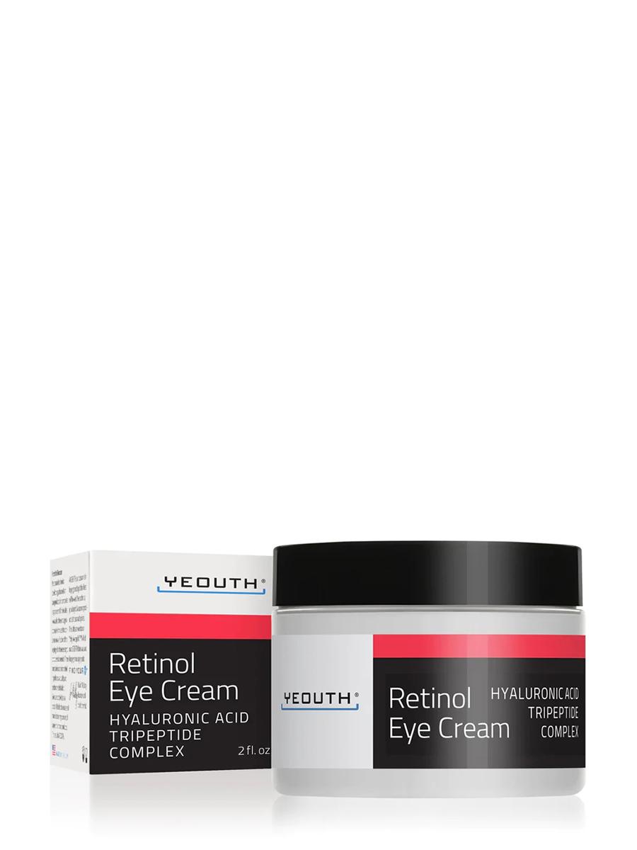 Retinol Eye Cream with Hyaluronic Acid, Caffeine, Green Tea - 2 fl. oz (60 ml)