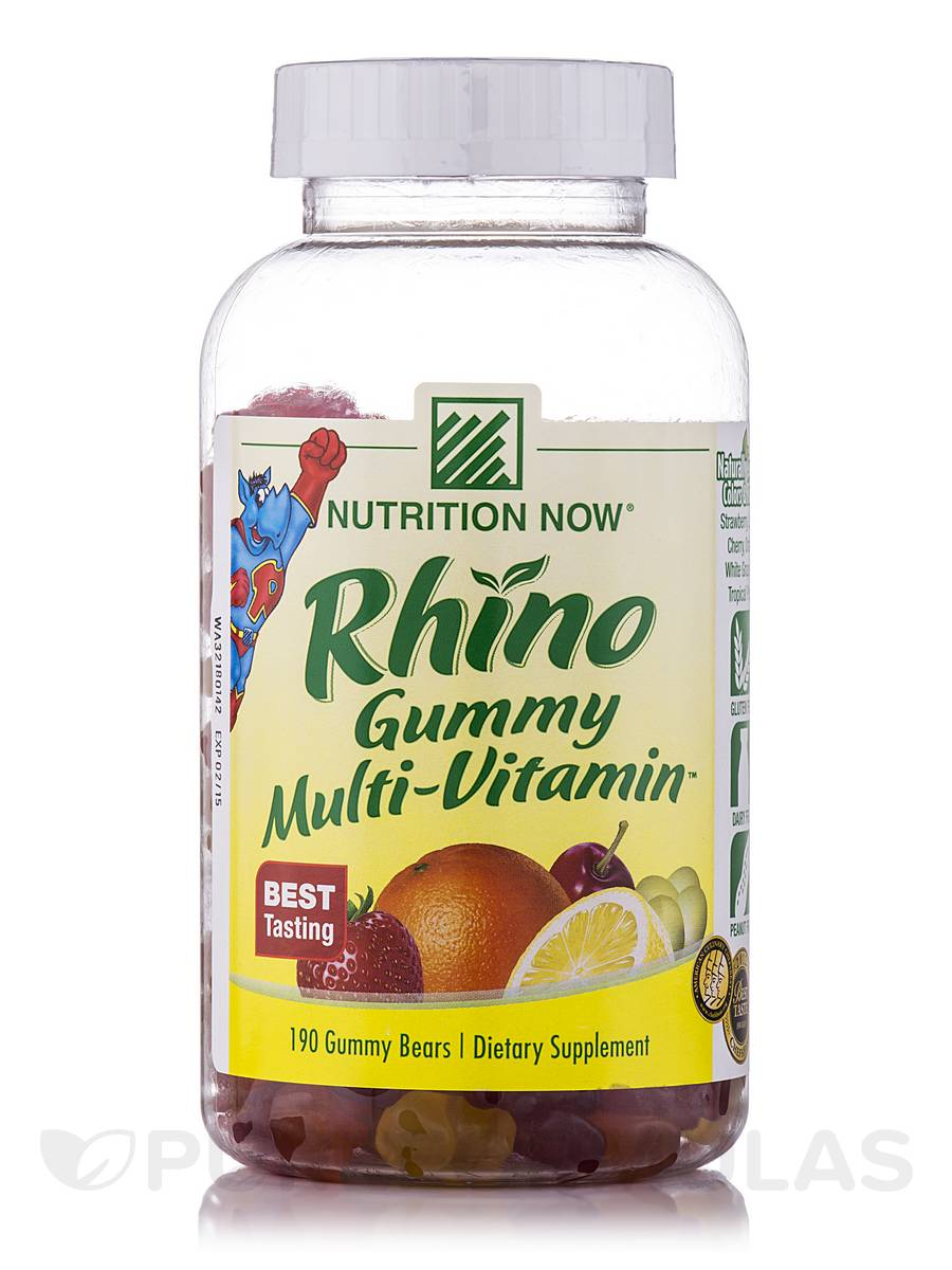 Rhino Multi-Vitamin™ (Assorted Flavors) - 190 Gummies
