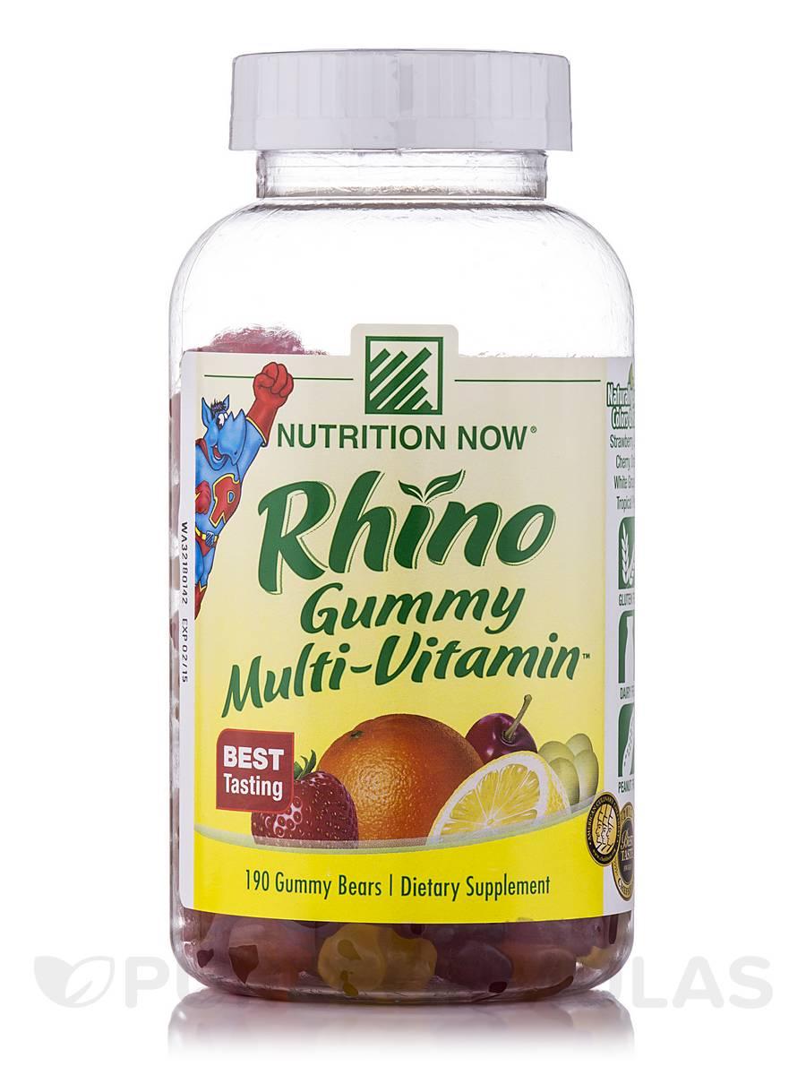 Rhino Multi-Vitamin™ (Assorted Flavors) - 190 Gummies