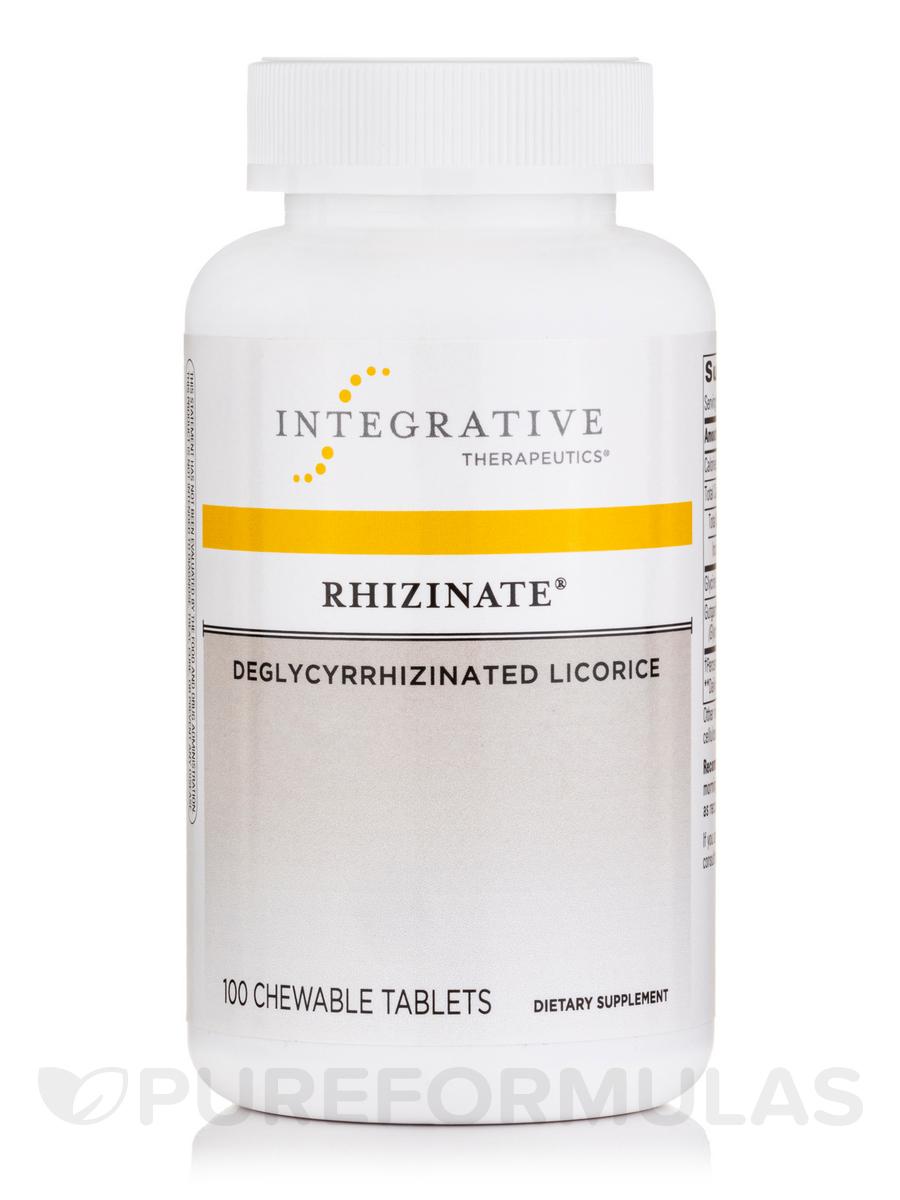 Rhizinate® Deglycyrrhizinated Licorice (Original Flavor) - 100 Chewable Tablets
