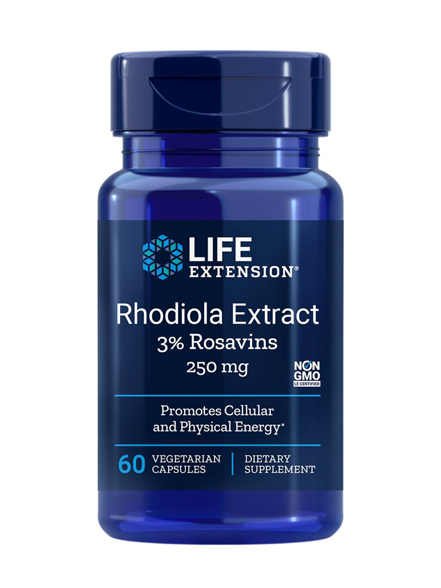 Life extension rhodiola
