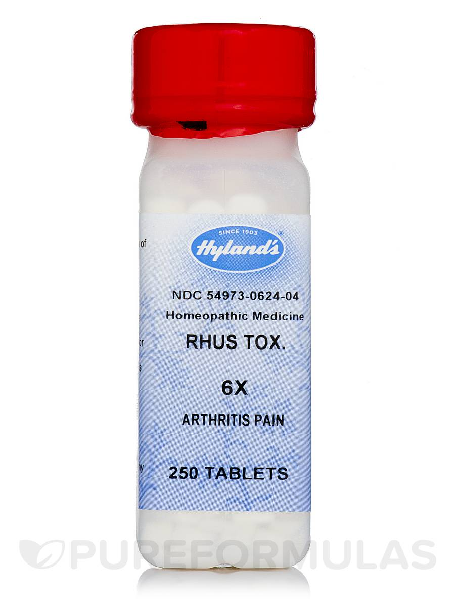 Rhus Toxicodendron 6X - 250 Tablets