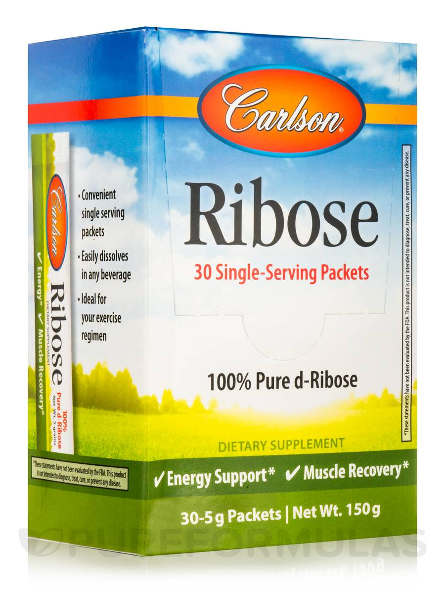 Ribose Packets - Box of 30 Packets (5 Grams each)