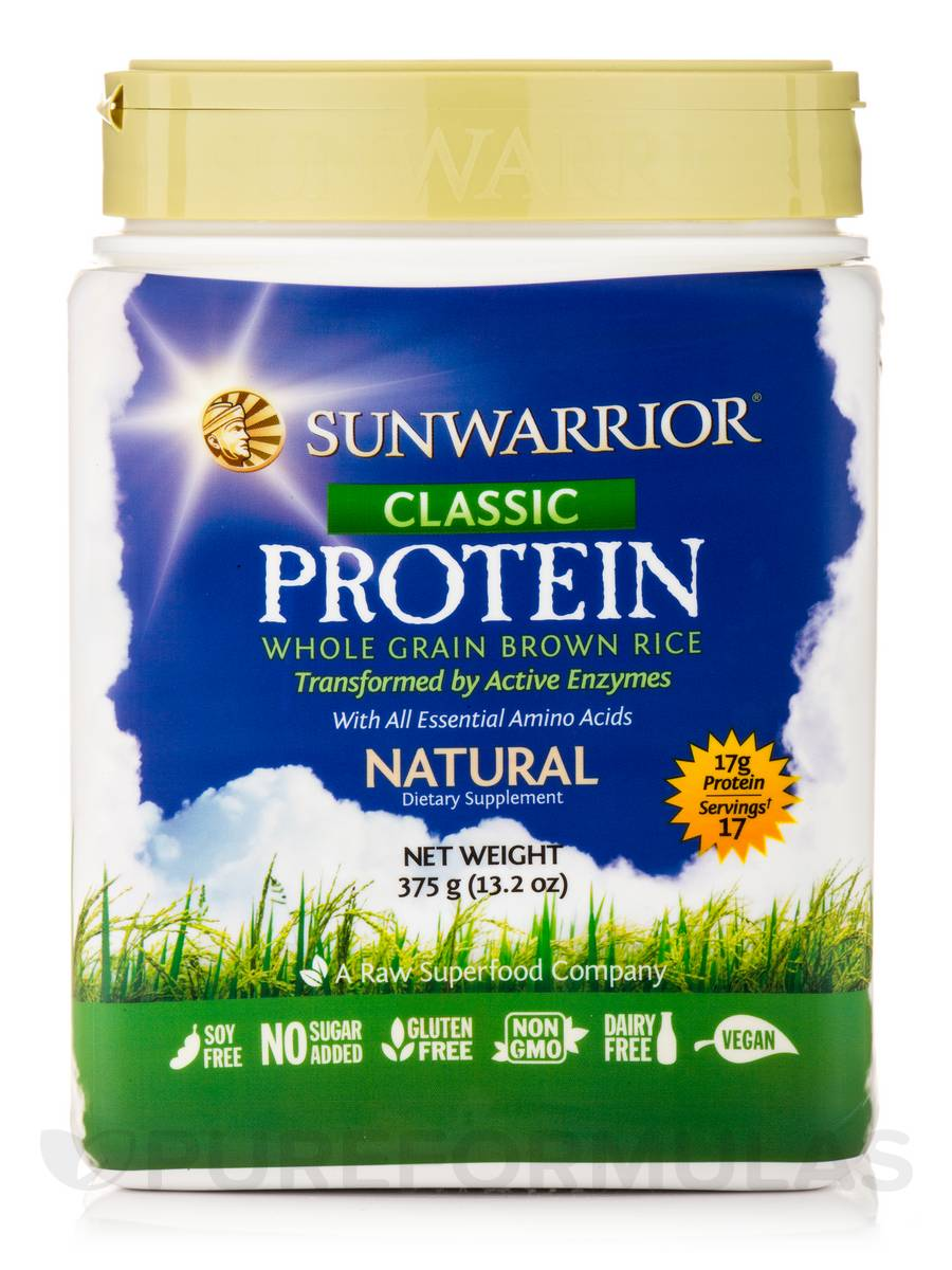 Classic Protein, Natural Flavor - 13.2 oz (375 Grams)