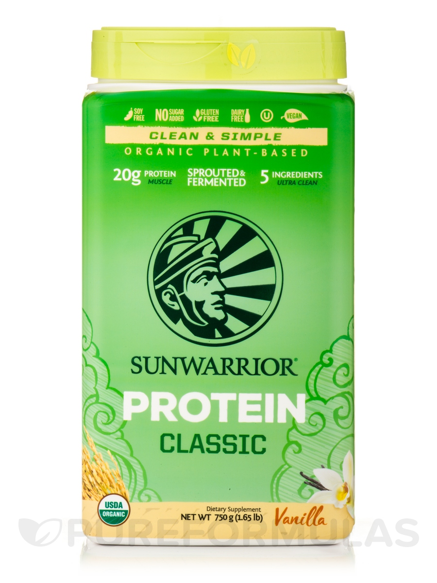 Classic Protein, Vanilla Flavor - 1.65 lb (750 Grams)