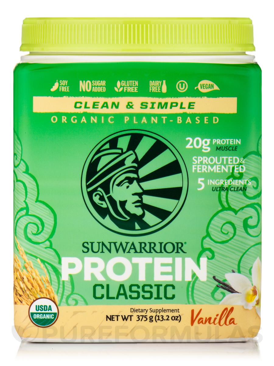 Classic Protein, Vanilla Flavor - 13.2 oz (375 Grams)