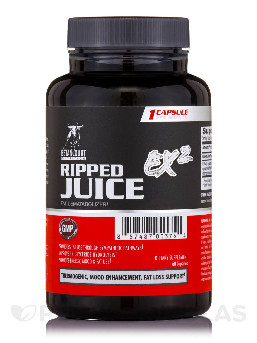 Ripped Juice EX2 - 60 Count