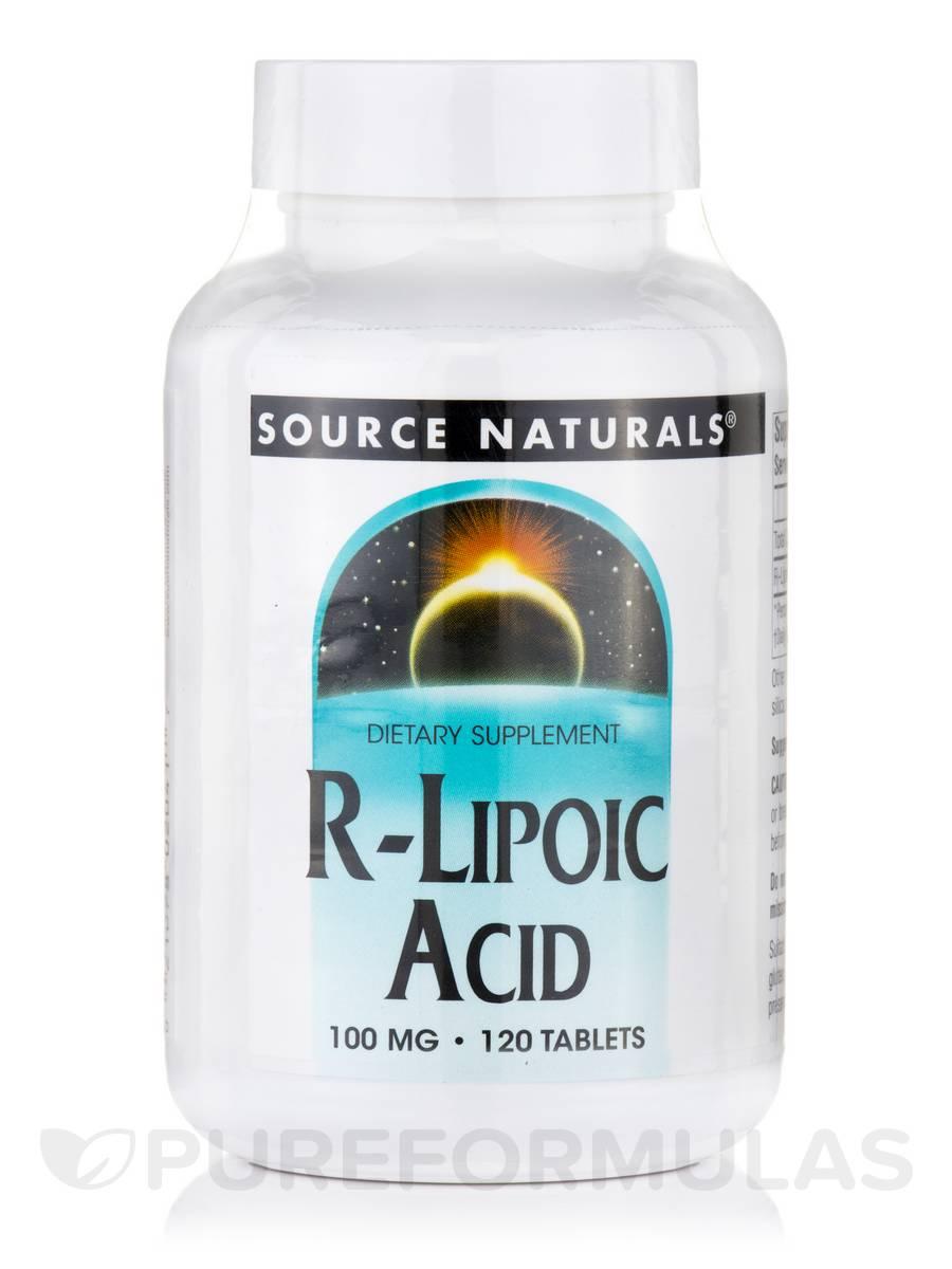 R-Lipoic Acid 100 mg - 120 Tablets