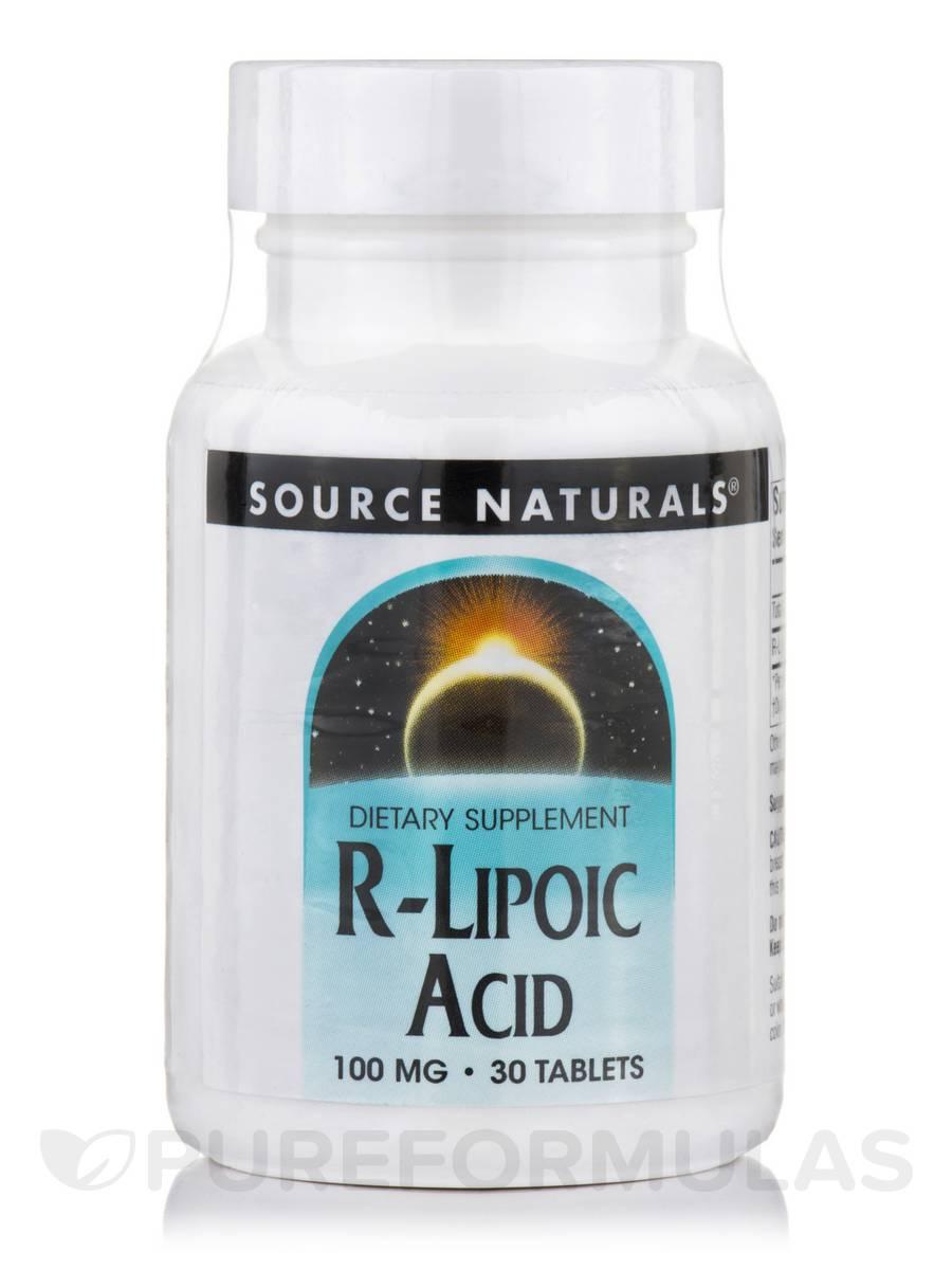 R-Lipoic Acid 100 mg - 30 Tablets