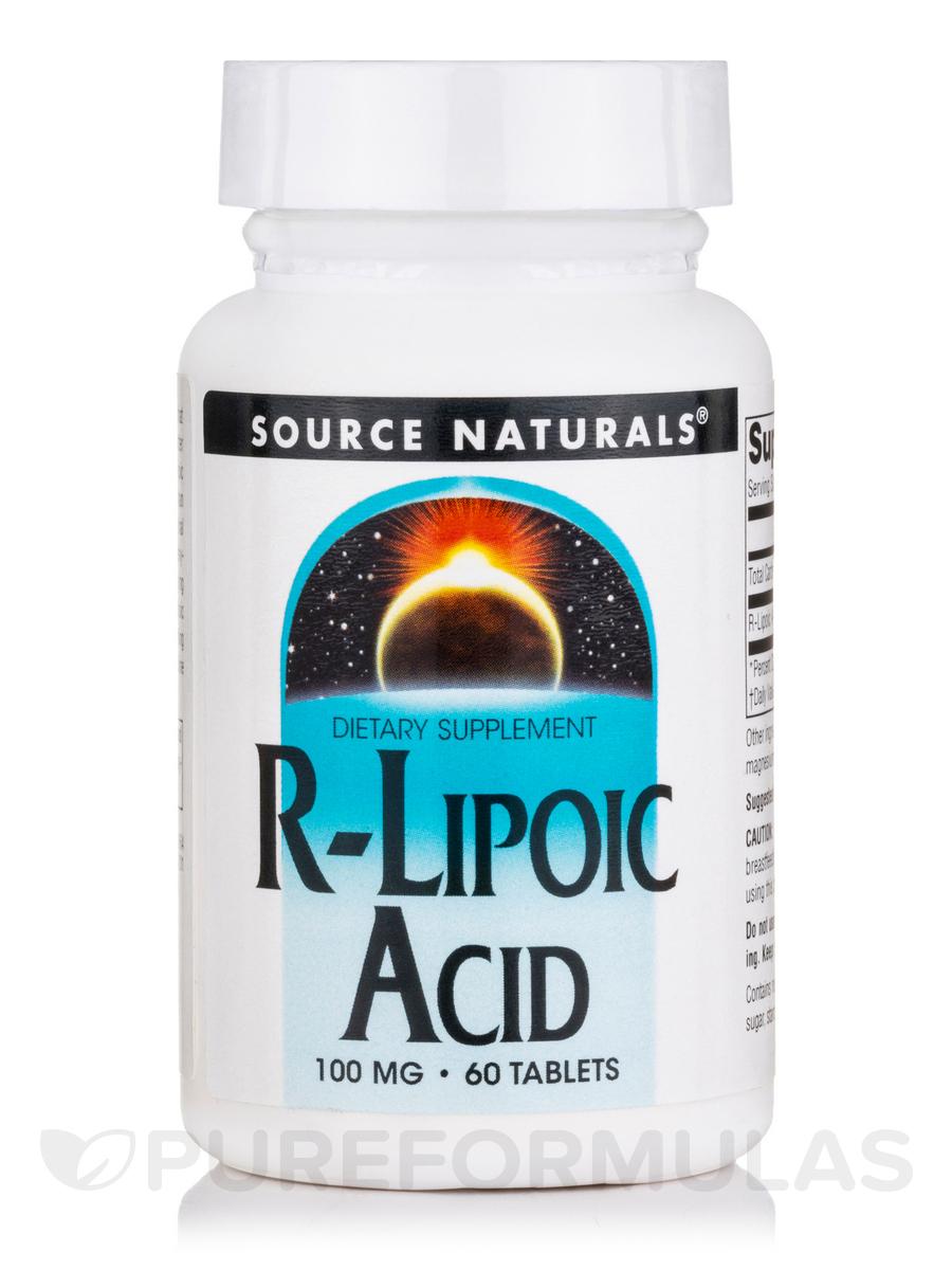 R-Lipoic Acid 100 mg - 60 Tablets