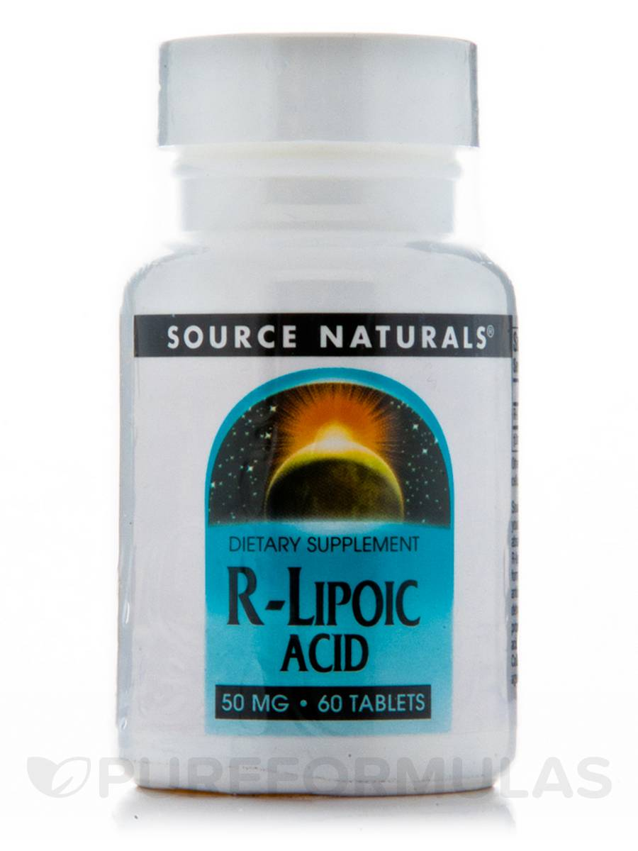 R-Lipoic Acid 50 mg - 60 Tablets