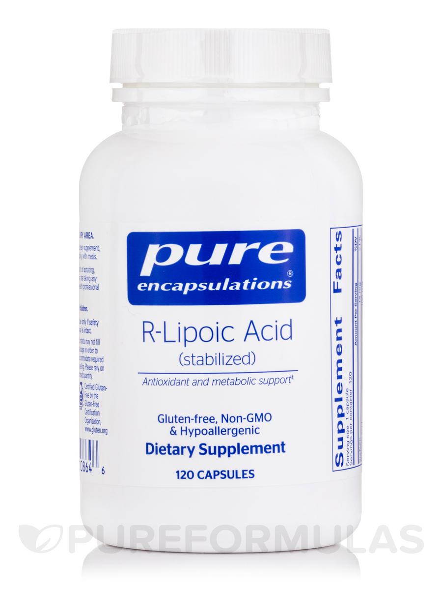 R-Lipoic Acid (Stabilized) - 120 Capsules