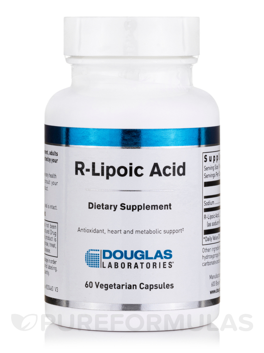 R-Lipoic Acid (stabilized) - 60 Vegetarian Capsules