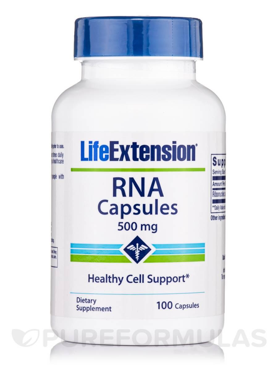 RNA 500 mg - 100 Capsules