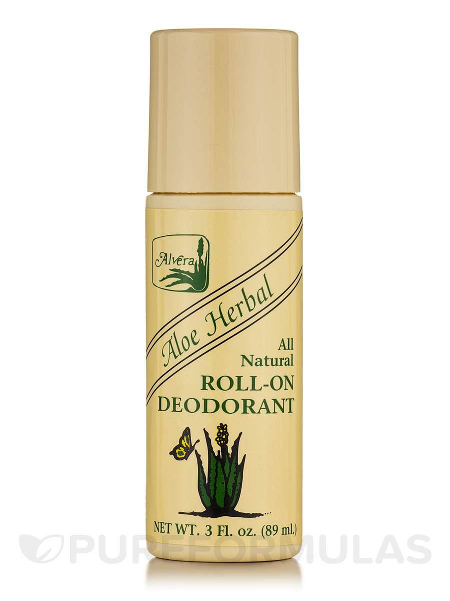 Roll-on Deodorant Aloe Based Herbal - 3 fl. oz (89 ml)