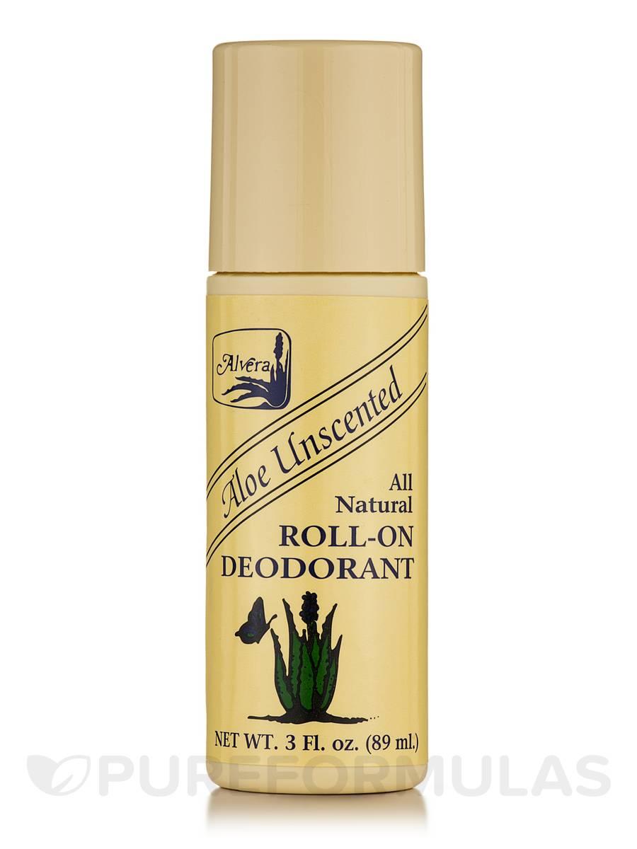 Roll-on Deodorant Aloe Based Unscented - 3 fl. oz (89 ml)