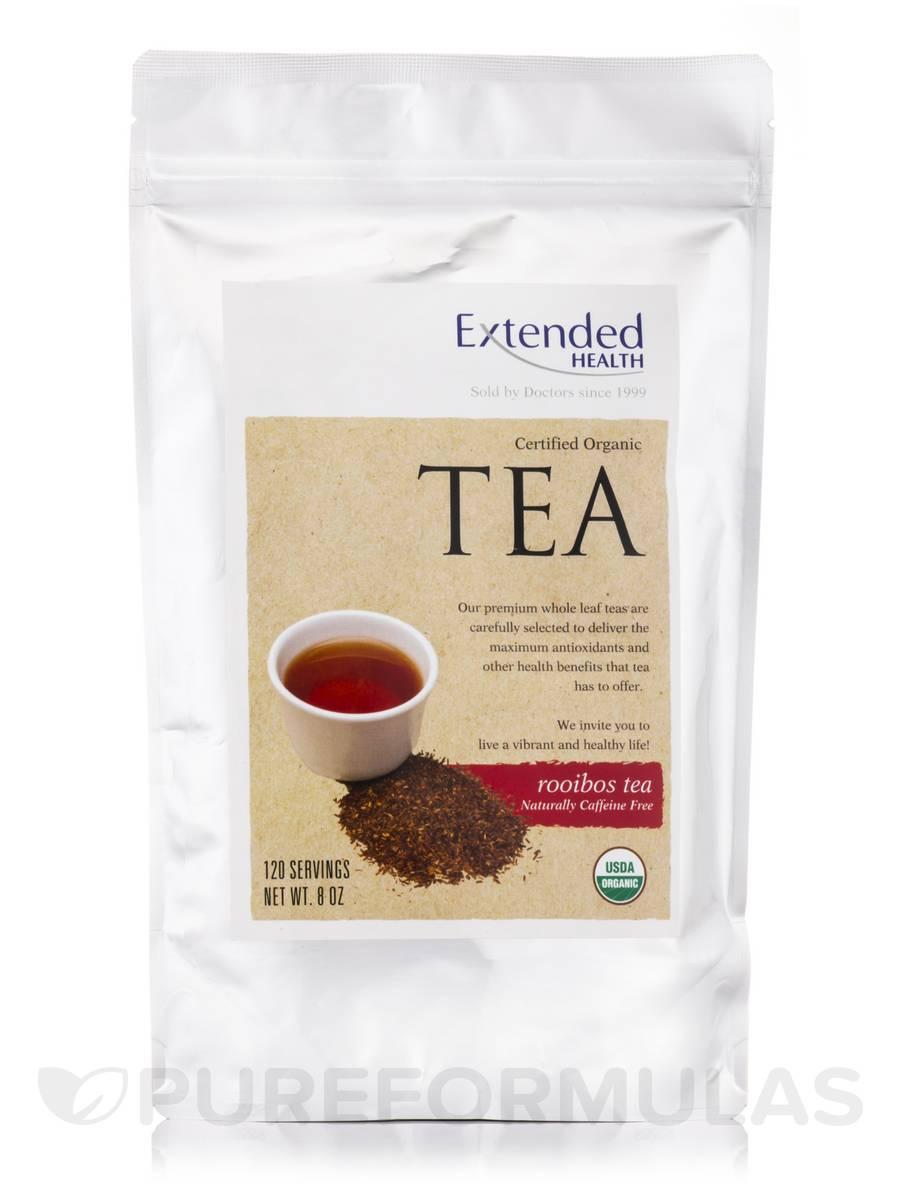 Organic Rooibos Tea (Caffeine-Free) - 120 Servings (8 oz)