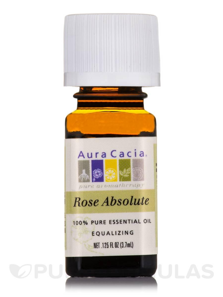 Rose Absolute Essential Oil (rosa centifolia) - 0.125 fl. oz (3.7 ml)