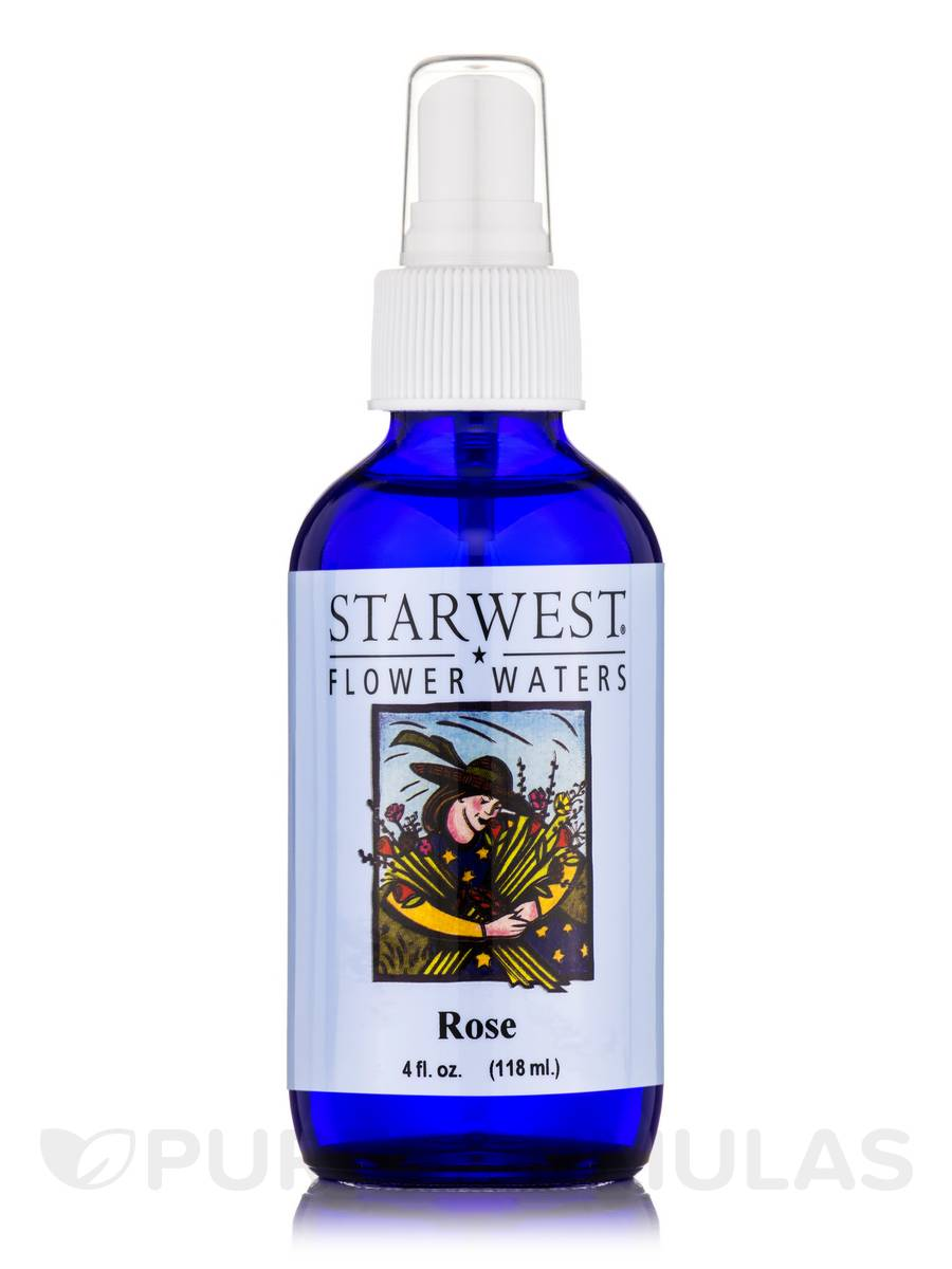Rose Flower Water - 4 fl. oz (118 ml)