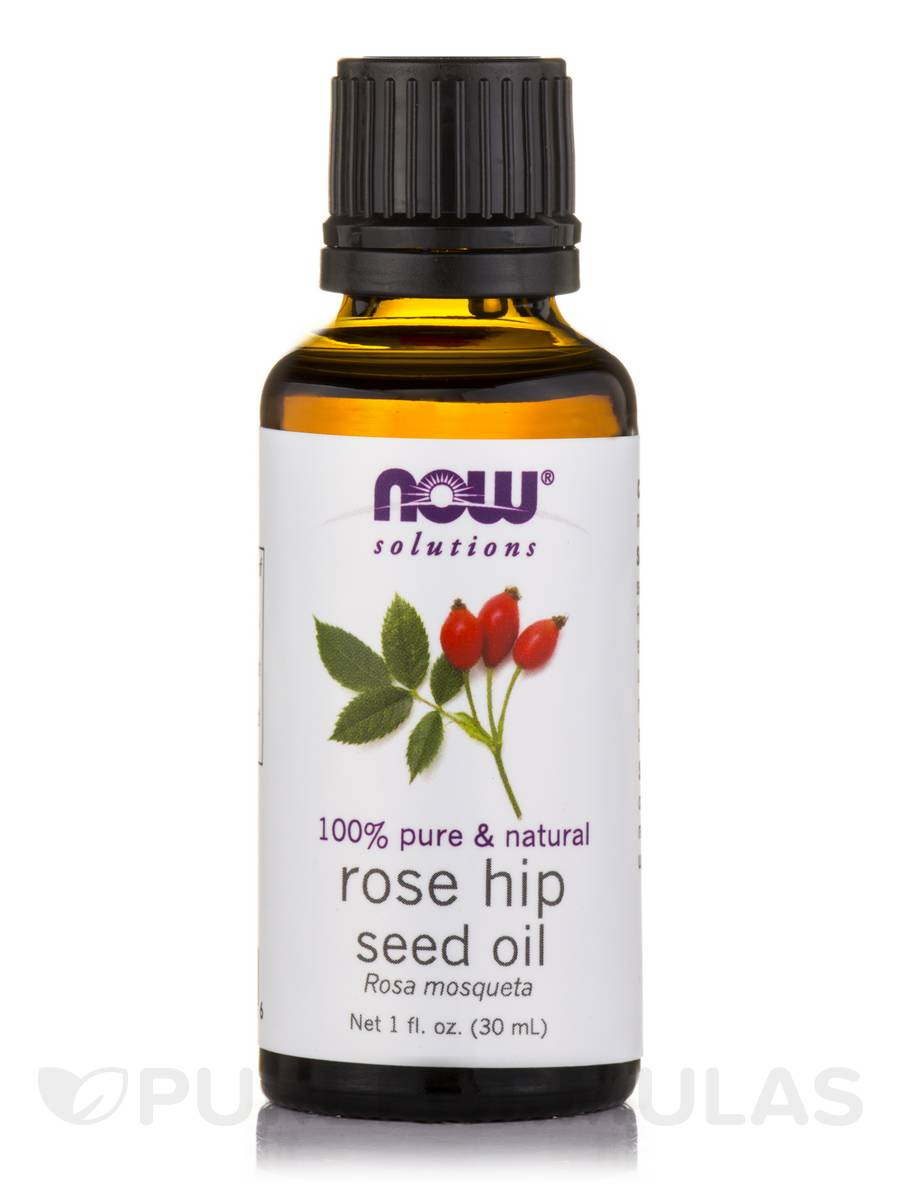 NOW® Solutions - Rose Hip Seed Oil - 1 fl. oz (30 ml)