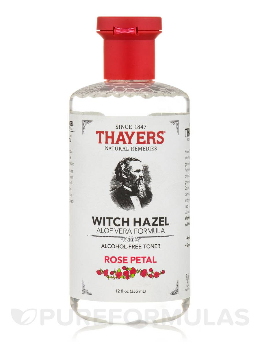 Witch hazel toners