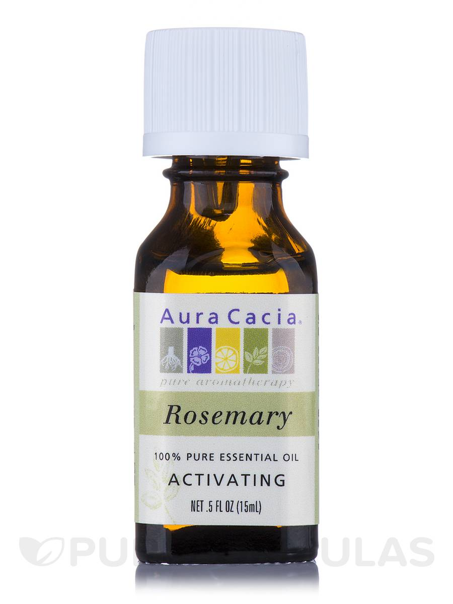 Rosemary Essential Oil (rosemarinus officinalis) - 0.5 fl. oz (15 ml)