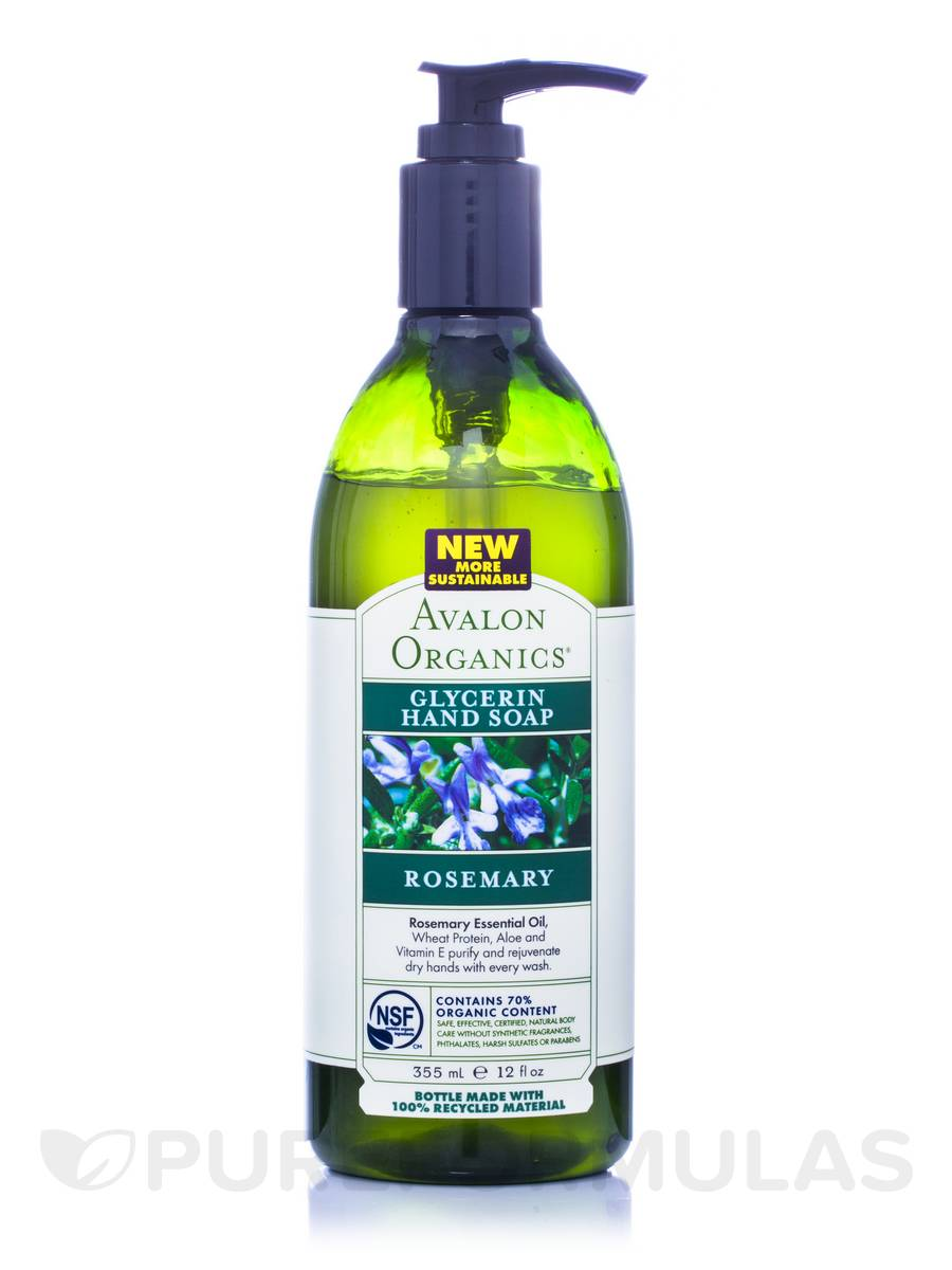 Rosemary Glycerin Hand Soap - 12 fl. oz (355 ml)