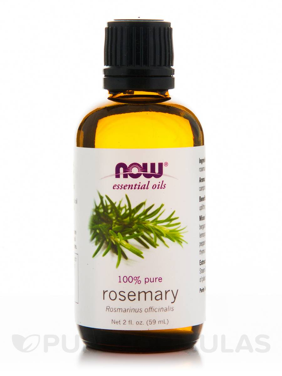 NOW® Essential Oils - Rosemary Oil - 2 fl. oz (59 ml)