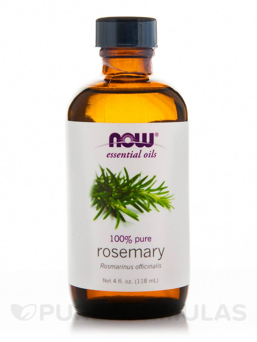 NOW® Essential Oils - Rosemary Oil - 4 fl. oz (118 ml)