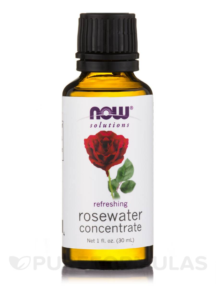 NOW® Solutions - Rosewater Concentrate - 1 fl. oz (30 ml)