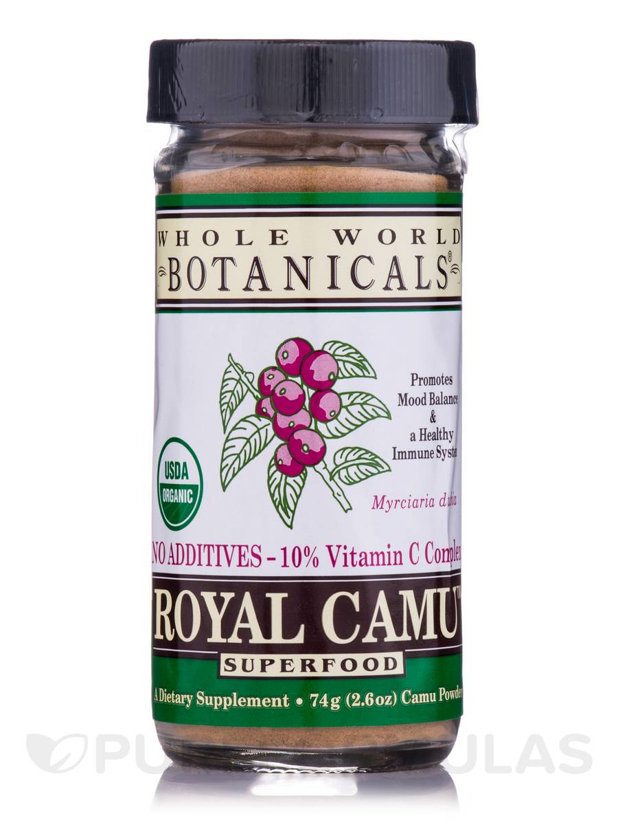 Royal Camu Whole Fruit Dark Powder - 2.6 oz (74 Grams)