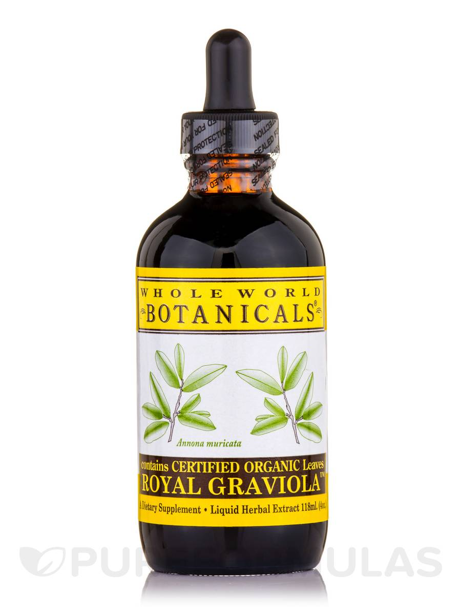 Royal Graviola Liquid Extract - 4 oz (118 ml)