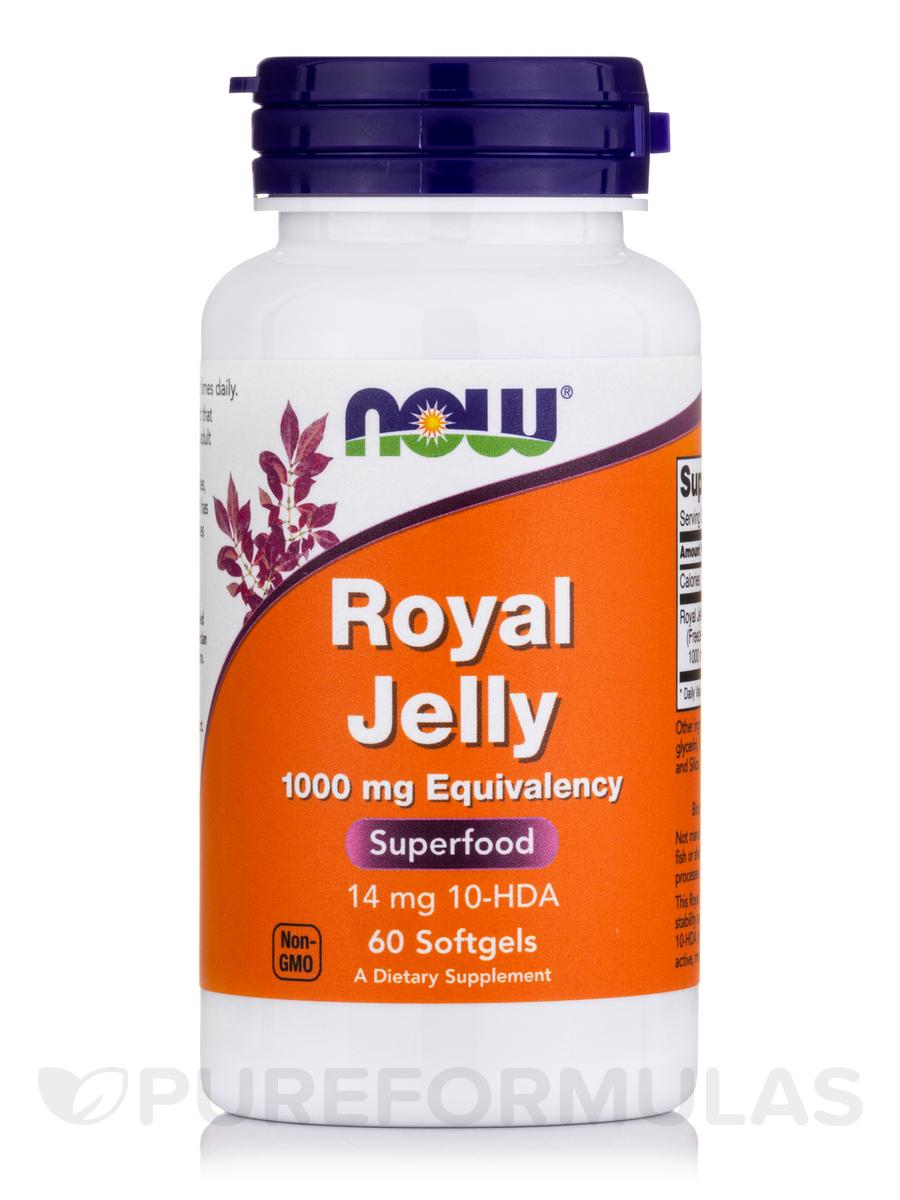 Royal Jelly 1000 mg - 60 Softgels