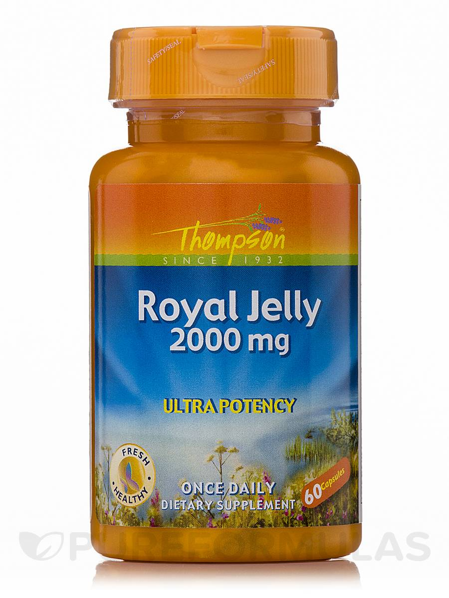Royal Jelly 2000 Mg Ultra Potency 60 Capsules