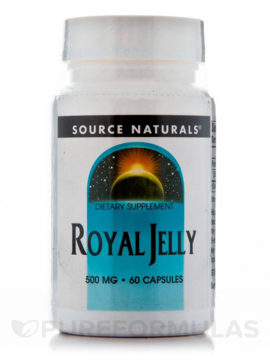 Royal Jelly 500 mg - 60 Capsules