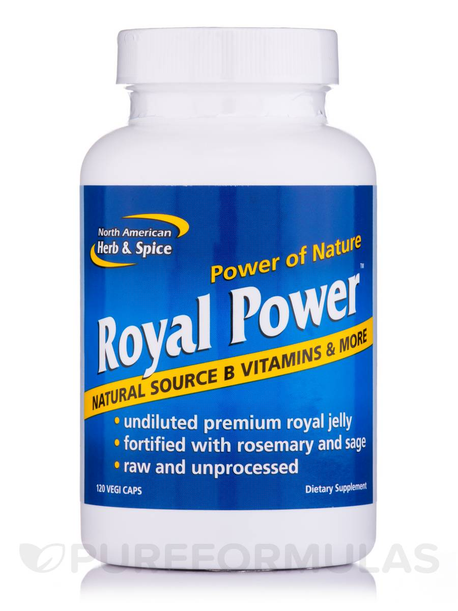 Royal Power - 120 Vegi Capsules