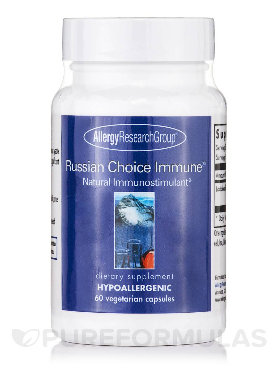 Russian Choice Immune® - 60 Vegetarian Capsules