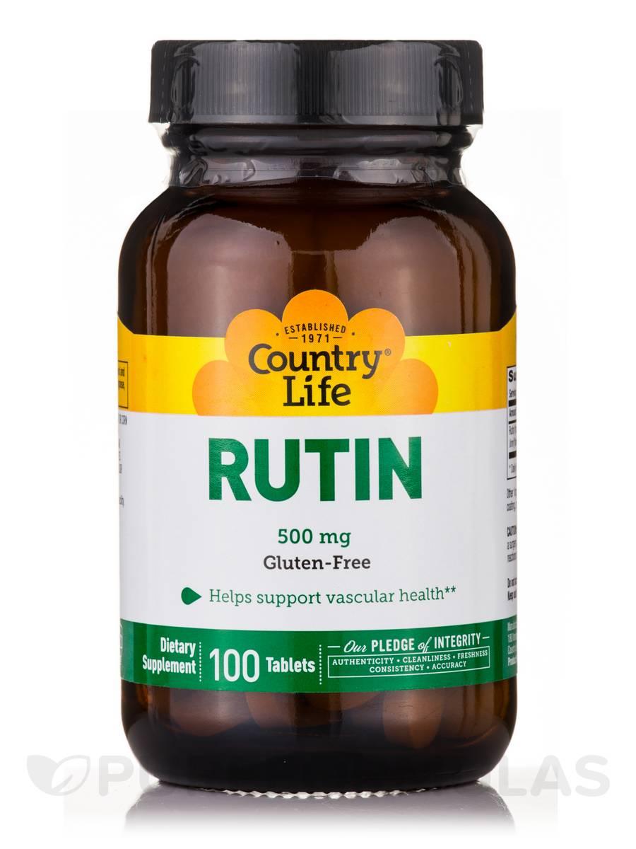 Rutin 500 mg - 100 Tablets