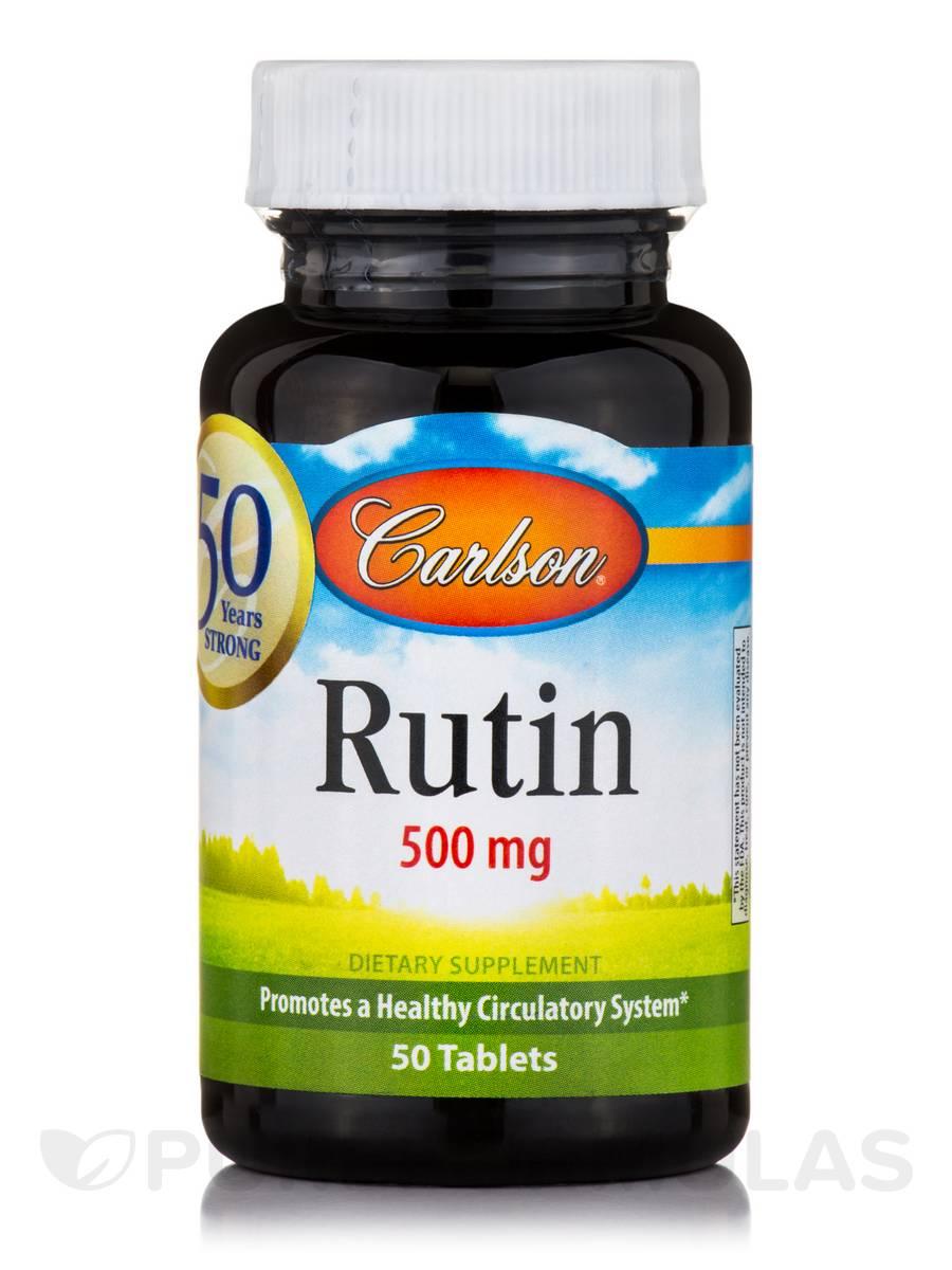 Rutin 500 mg - 50 Tablets