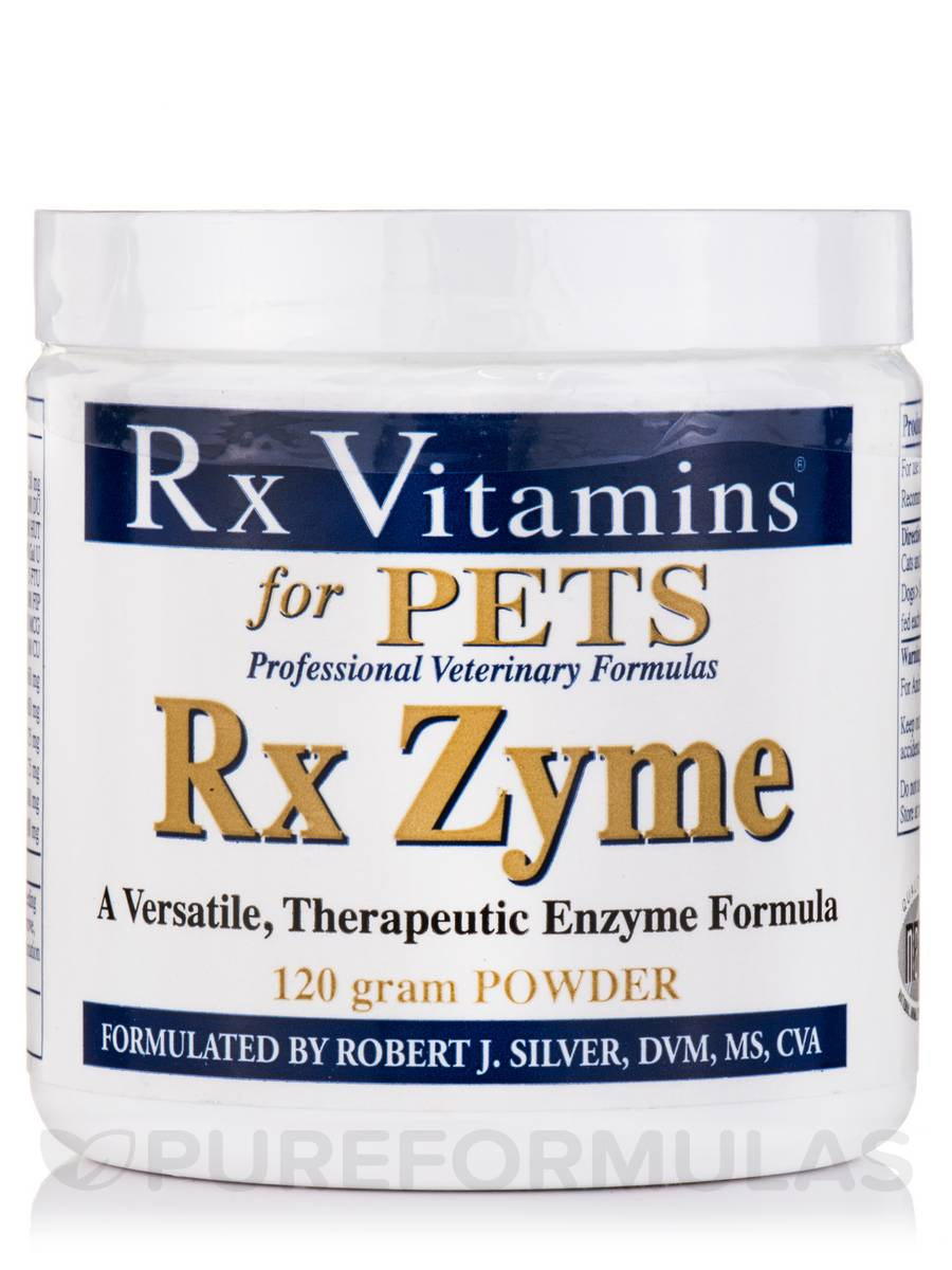 Rx Zyme for Pets Powder - 120 Grams