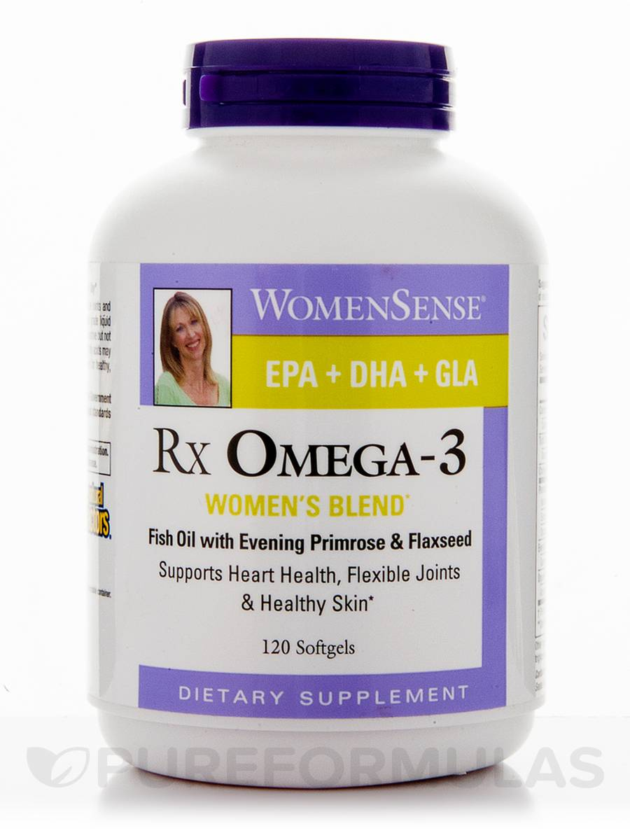 Rx Omega-3 Factors™Fish Oil Concentrate - 120 Softgels