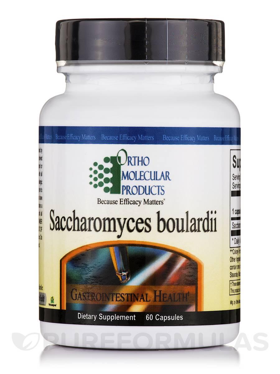 Saccharomyces Boulardii - 60 Capsules
