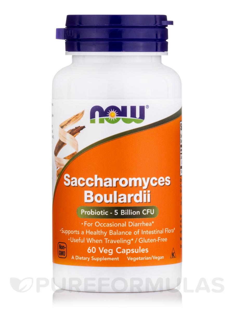 Saccharomyces Boulardii - 60 Vegetarian Capsules