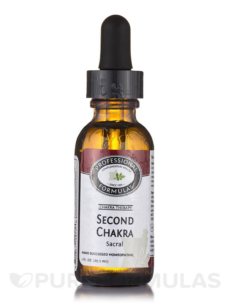 Second Chakra Formula - 1 fl. oz (29.5 ml)