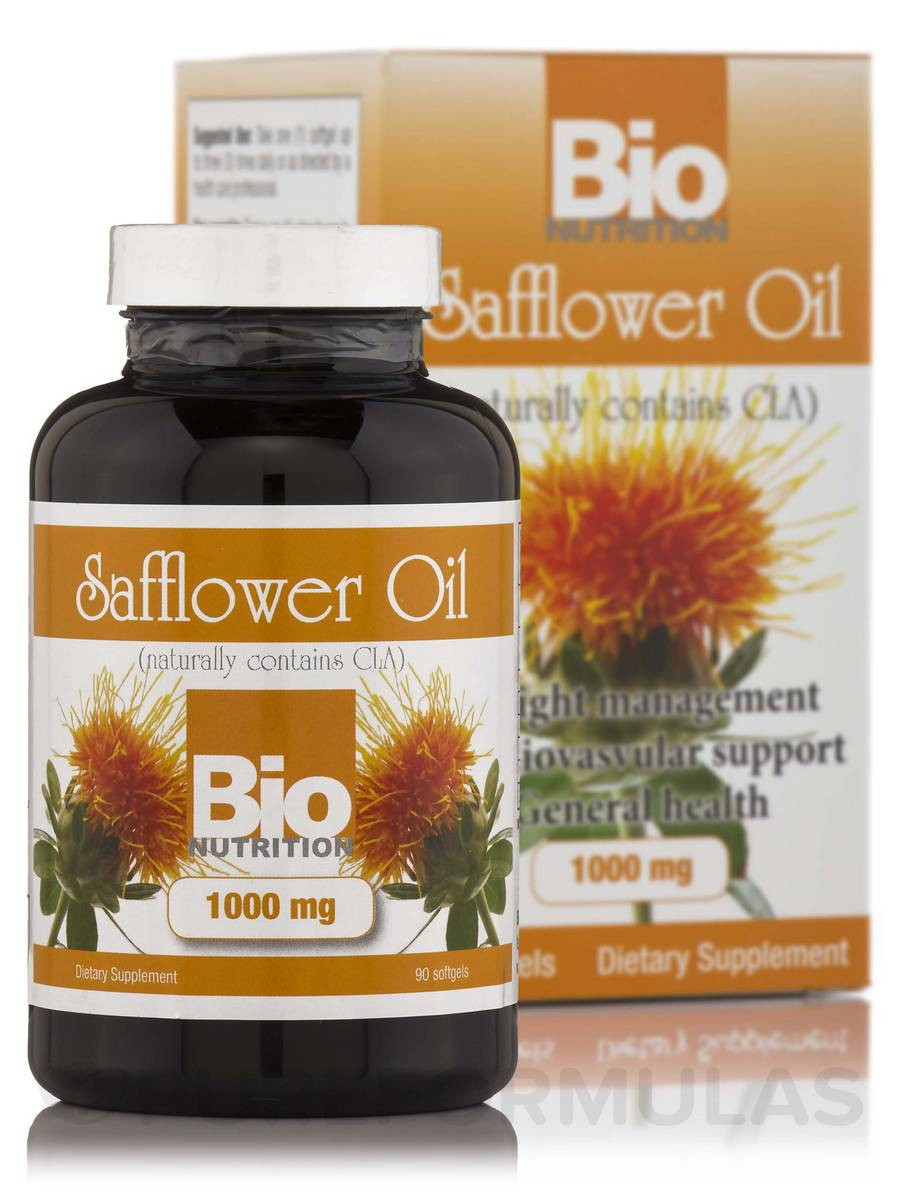 Safflower Oil 1,000 mg - 90 Softgels