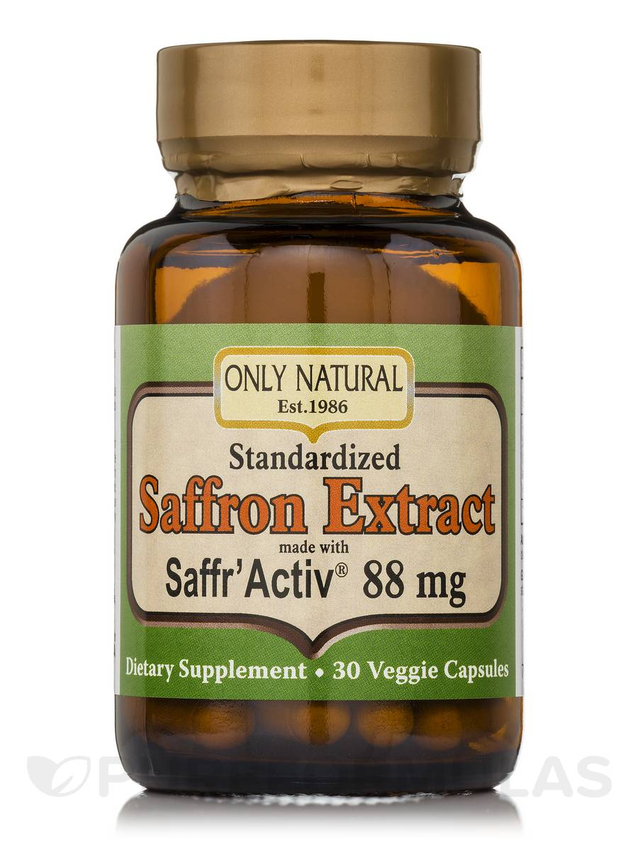 Saffron Extract made with Saffr' Activ 88 mg - 30 Capsules