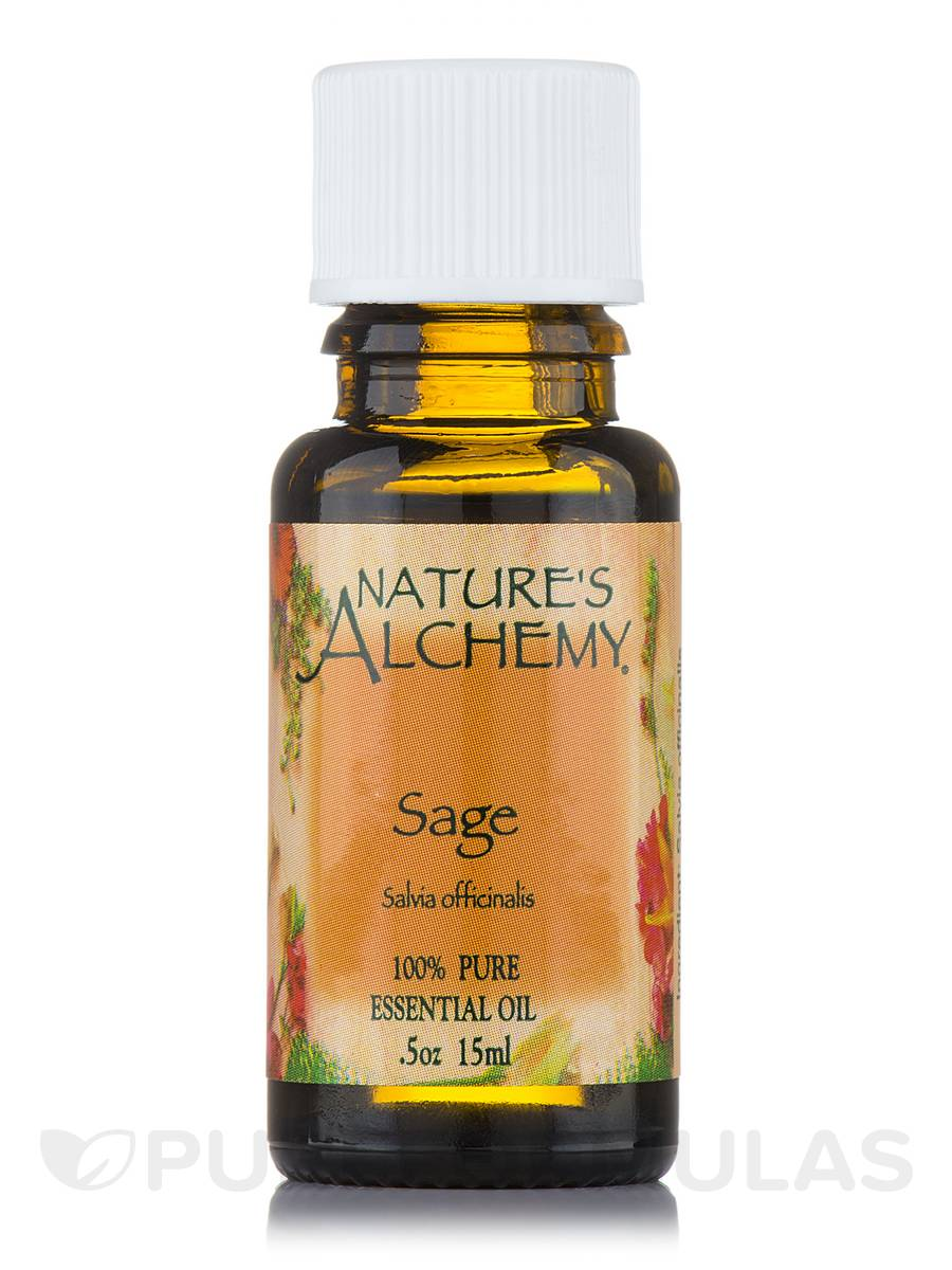 Sage Pure Essential Oil - 0.5 oz (15 ml)