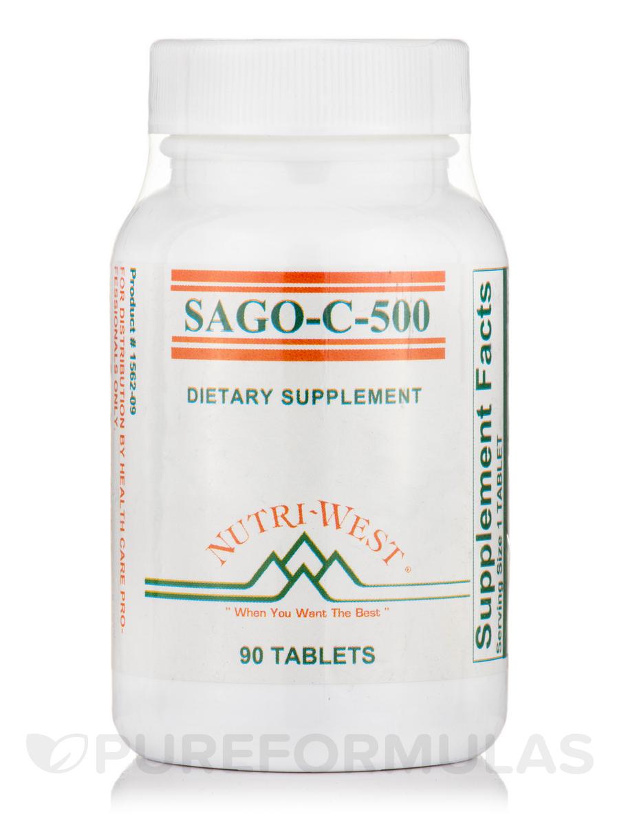 Sago-C-500 - 90 Tablets
