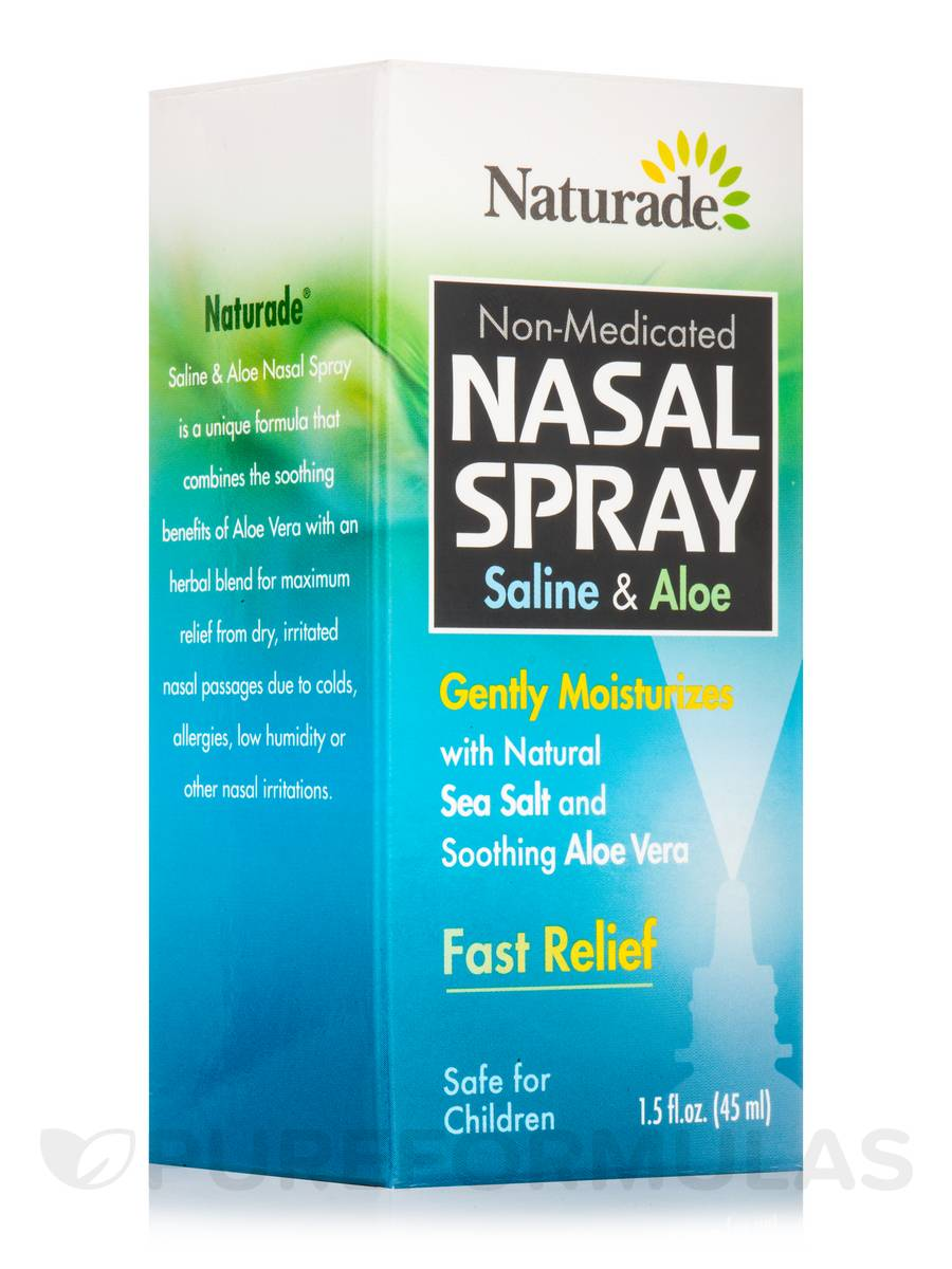 Saline & Aloe Nasal Spray - 1.5 fl. oz (45 ml)